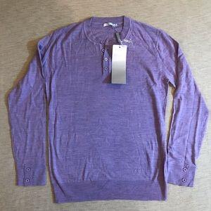 Billtornade Paris Lilac Wool Sweater Brand New